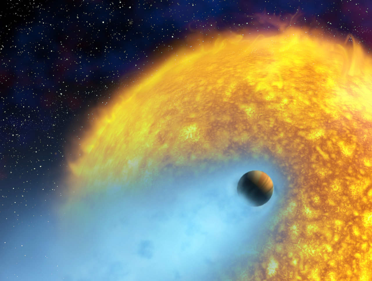November 27, 2001: First Atmosphere Discovered on Extrasolar Planet