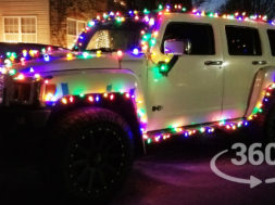Run Christmas Lights on Your Car
