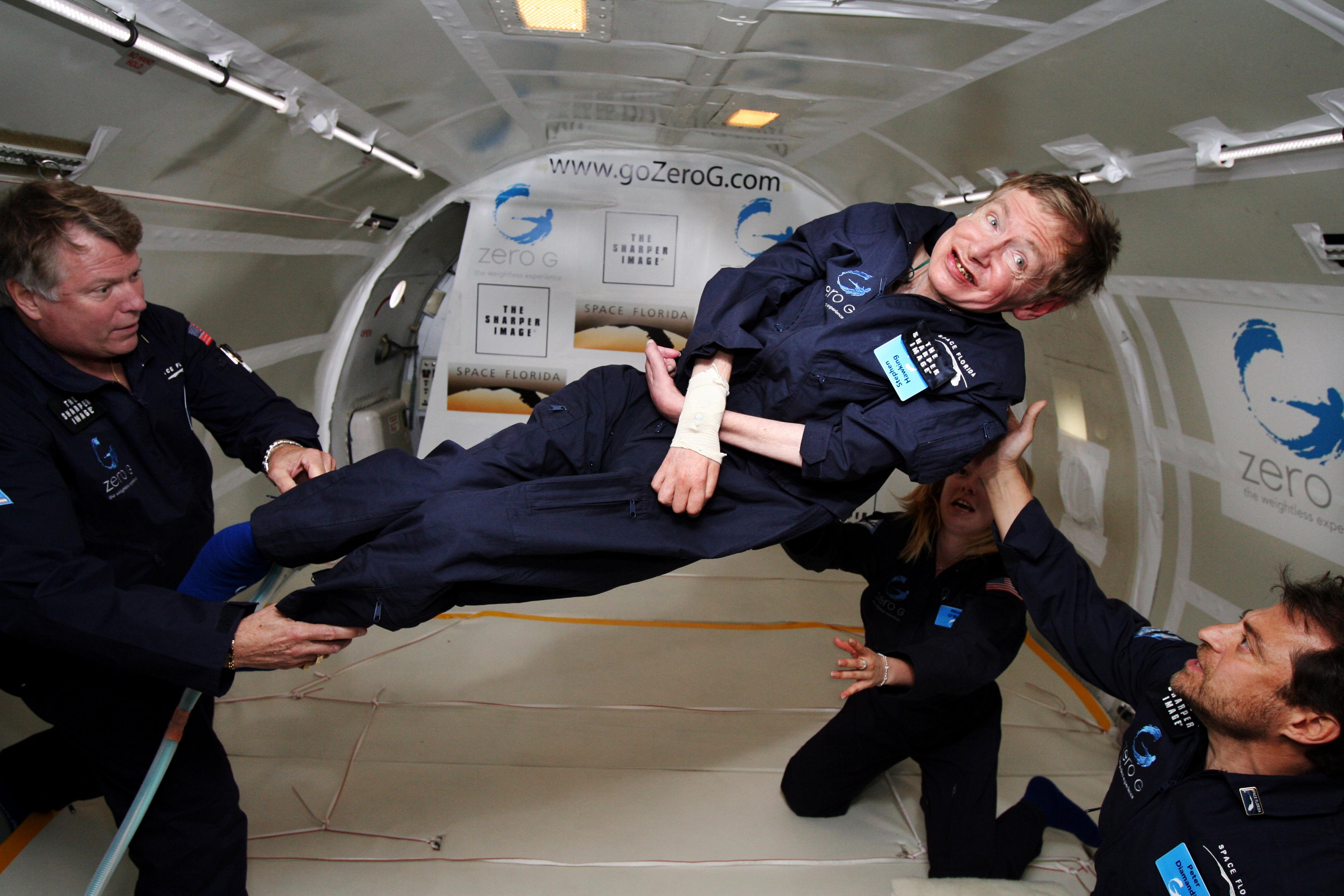 Stephen Hawking's Voice Launched Into Space